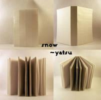 blank book - snow by yatsu