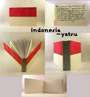 flag book - indonesia by yatsu
