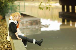 Vocaloid rin and len by bai917