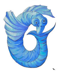 Blue dragon fish by jennystokes