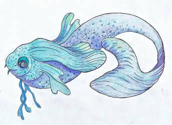 Miss Prettyfish by jennystokes