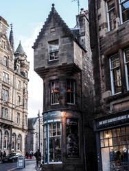 Buildings in Edinburgh. Scotland 6 by jennystokes