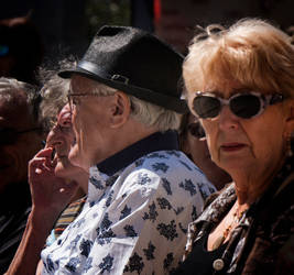 Sunglasses and noses. Beaucaire. Fr by jennystokes
