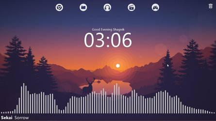 Rainmeter Desktop Customization #3 by StarLender