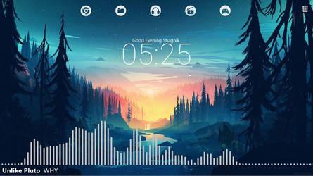 Rainmeter Desktop Customization #3-2 by StarLender