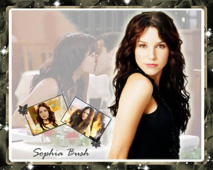 Sophia Bush Wallpaper by TwistedTarget