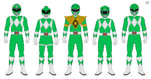 MMPR Dragon Power by Zyuoh-Eagle