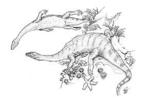 Majiashanosaurus discocoracoidis by batworker