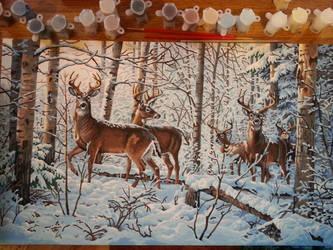 Winter Scene by Metanaito-kyou