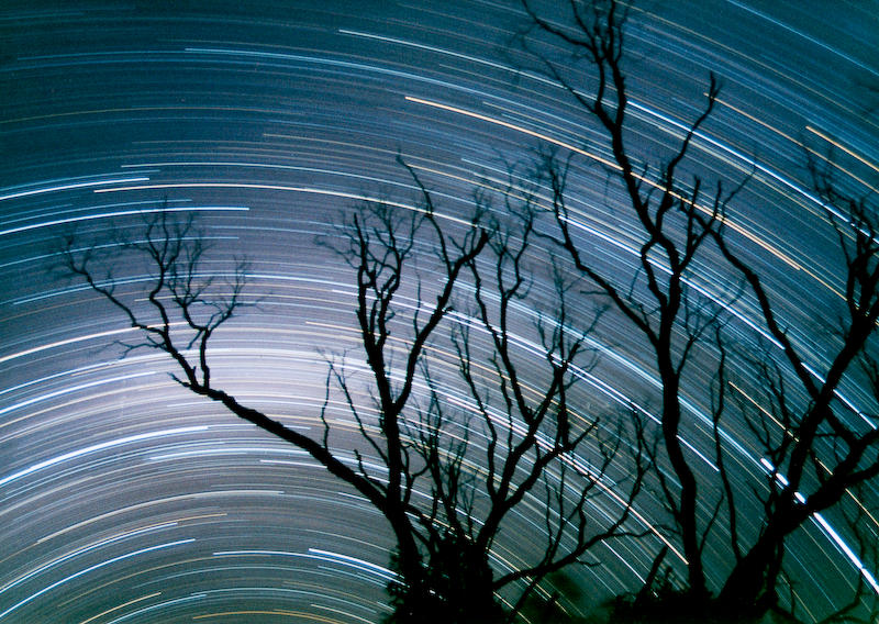 Star trails by 35mil