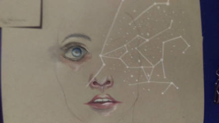 Constellations: Inspired by Agnes Cecile by juliaanderson1269