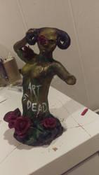 The sad truth that Art is Dead  by juliaanderson1269