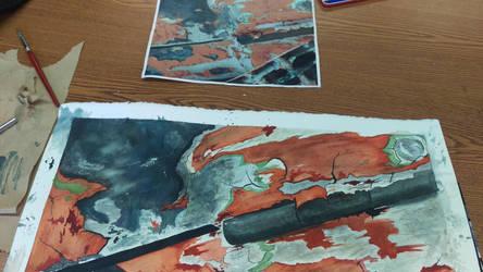 Rust and Grime  by juliaanderson1269