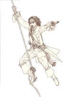 Jack McCool Sketch by Manveruon