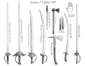 Blades of the Brethren by Manveruon