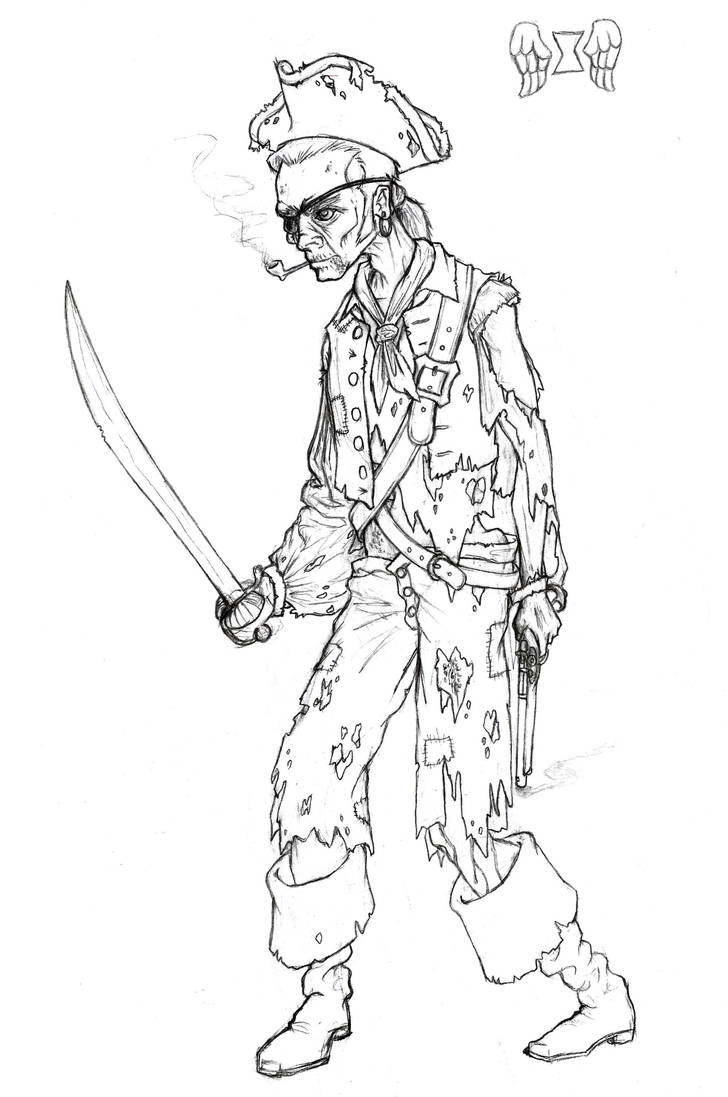 Undead Pirate by Manveruon