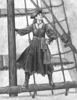 Mistress Kristin the Pirate by Manveruon
