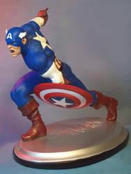 Marvel Milestones: Captain America by GabrielxMarquez