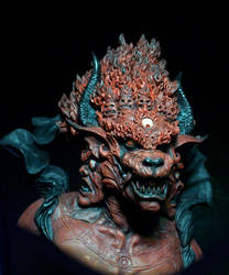 Yama Lord of Death (detail) by GabrielxMarquez