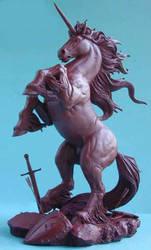 Dark Fury Unicorn by GabrielxMarquez