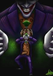The madness of the Joker by KuroStars