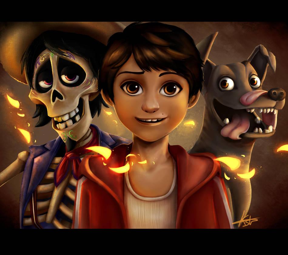 Coco Miguel fanart by KuroStars
