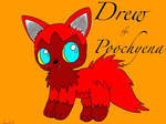 Drew te Poochyena by CatsCat112