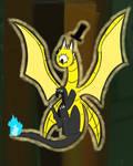 Bill Cipher Dragonized by randompasserbyer