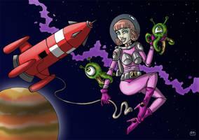 Space Girl by Lucas-Knukle