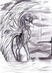 Celestial phoenix by BJWthegravelord