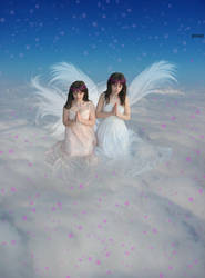 Do angels pray by yet2kw