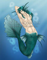 Merman by Demonic-Demona