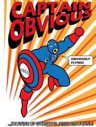 Captain Obvious by mega-jesus