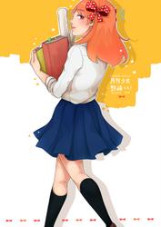 Gekkan Shoujo Nozaki-kun: Chiyo by strawberry-queen1