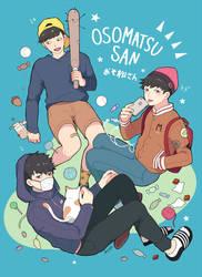 Osomatsu-san by strawberry-queen1