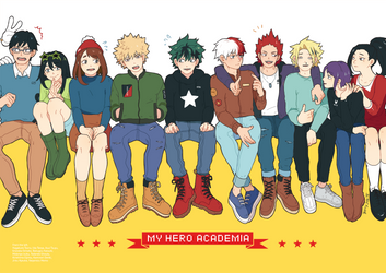 BNHA by strawberry-queen1