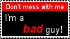 Bad Guy Stamp V2 by CommanderDraco