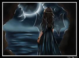 Nyx - Greek Goddess of Night by Dee-Tay