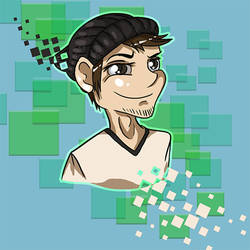 TC Pixel Icon Headshot by Canis-Solus