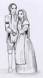 Nasja and Tysria by tishca