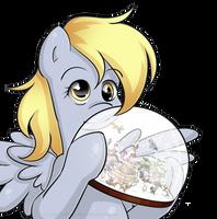 Derpy's snowglobe by secret-pony