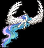 Princess Celestia by secret-pony