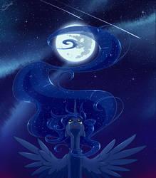 Full Moon by secret-pony