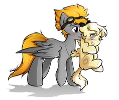 Off to bed with you, filly by secret-pony