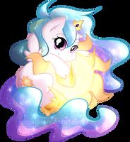 Chibi Celestia by secret-pony