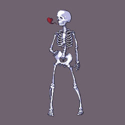 Skeleton Lady by ThisIsEllian