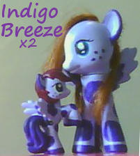 Indigo Breeze Custom Ponies by KiyaraSabel