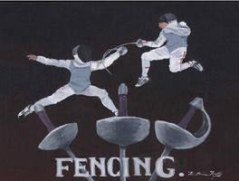 Fencing by Stranger-In-Black