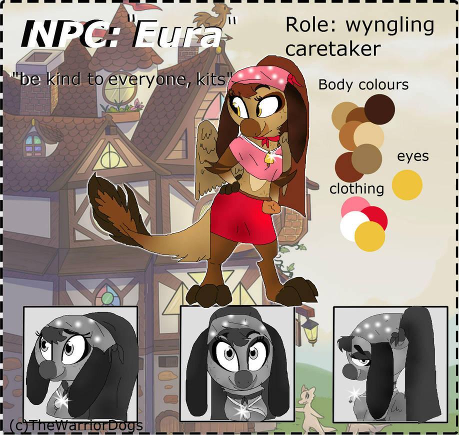 NPC entry 12| Eura by TheWarriorDogs ...