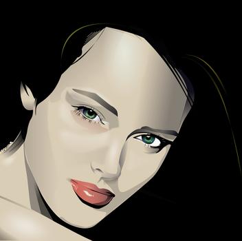 Inkscape Portrait Practice by Seothen